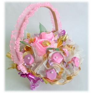 «Джулия» корзинкаДоставка букетов из конфет возможна при оформлении заказа не ранее чем за 2 (два) рабочих дня до планируемой даты доставки.<br><br><br><br>...<br>
