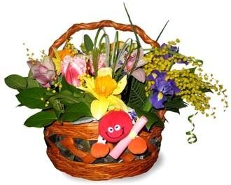 Цветочные корзины Гранд Флора 1474 фото