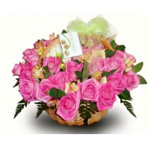 Розовые розы...<br>