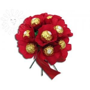 Аленький цветочекДоставка букетов из конфет возможна при оформлении заказа не ранее чем за 2  (два) рабочих дня до планируемой даты доставки.<br><br><br><br>Состав букета: - Конфеты Ферерро Роше - 15 шт, - Флористический материал. ВНИМАНИЕ: СРОК ИЗГОТОВЛЕНИЯ 1 ДЕНЬ...<br>