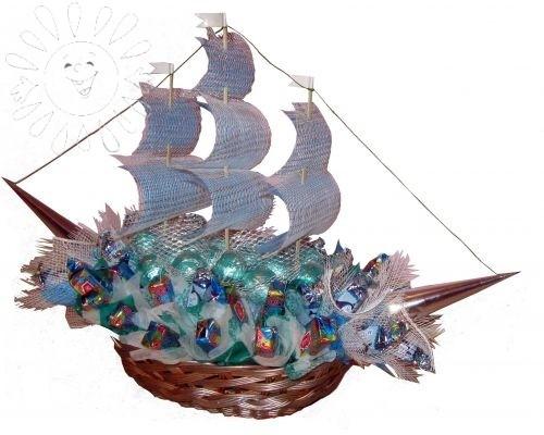 Сладкий корабль от Grand-Flora.ru