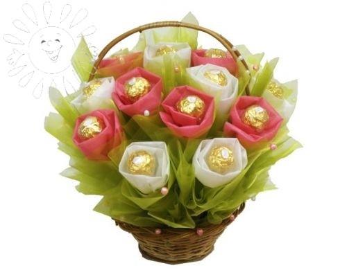 Сладкие цветы от Grand-Flora.ru