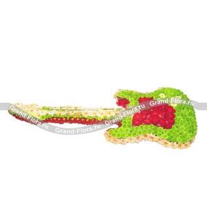 ГитараОформление заказа на доставку композиции в виде игрушки на сайте Grand-flora.ru возможно за 3 дня до даты доставки. Если Вам необходима срочная доставка - уточнить информацию Вы можете у менеджера по телефону 8 988 744 46 44 или 8 800 333 01 95.<br>Ра...<br>