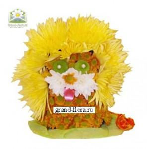 ЛьвенокОформление заказа на доставку композиции в виде игрушки на сайте Grand-flora.ru возможно за 3 дня до даты доставки. Если Вам необходима срочная доставка - уточнить информацию Вы можете у менеджера по телефону 8 988 744 46 44 или 8 800 333 01 95.<br>Ко...<br>