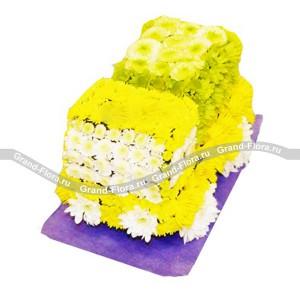 МашинкаОформление заказа на доставку композиции в виде игрушки на сайте Grand-flora.ru возможно за 3 дня до даты доставки. Если Вам необходима срочная доставка - уточнить информацию Вы можете у менеджера по телефону 8 988 744 46 44 или 8 800 333 01 95.<br>Ко...<br>