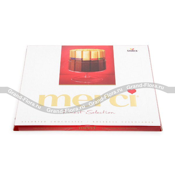 Шоколад Merci ассорти (250г) от Grand-Flora.ru