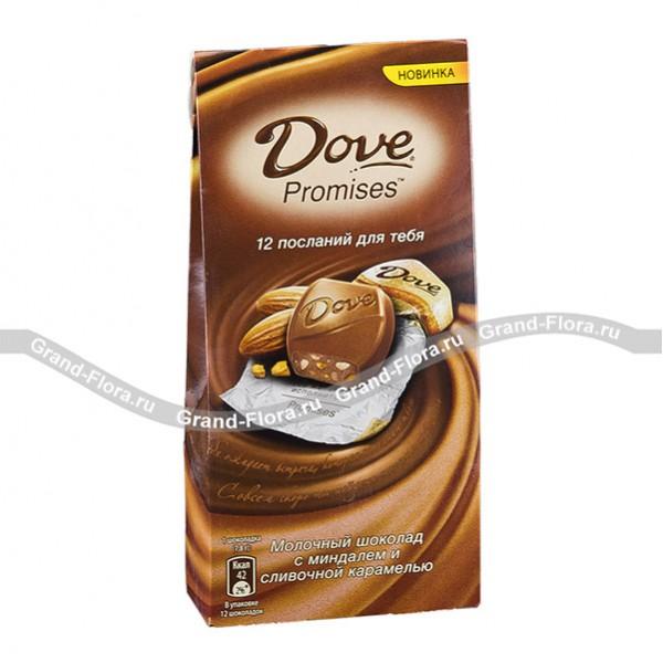 Шоколад Dove c посланием