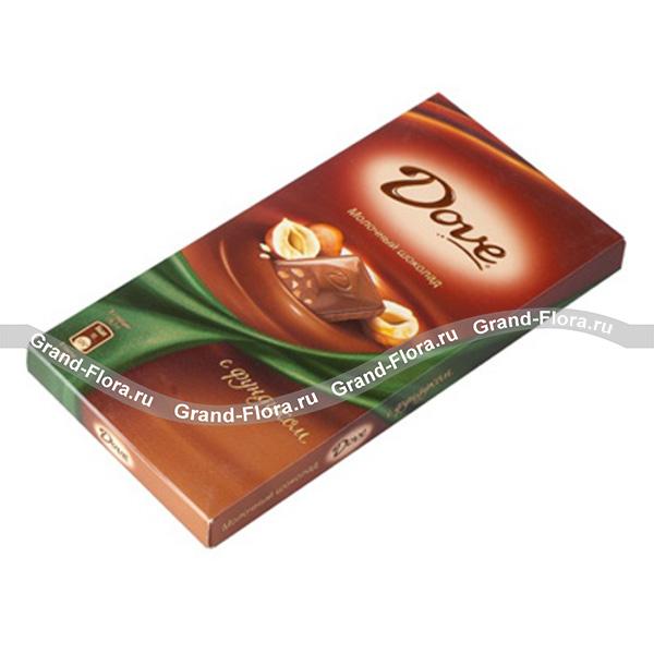 "Шоколад ""Dove"" от Grand-Flora.ru"