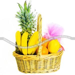 Фрукты - корзина из фруктов подарочная