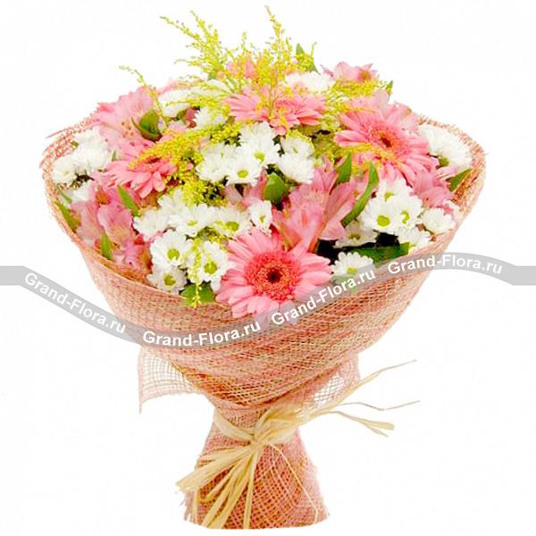 Перенесены на р-букет Гранд Флора В розовых мечтах фото
