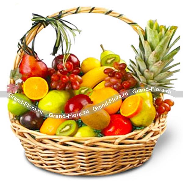 Фруктовый бум  - подарочная корзина из фруктов