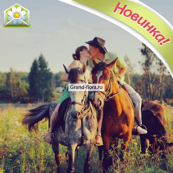 Романтическая прогулка на лошадях от Grand-Flora.ru