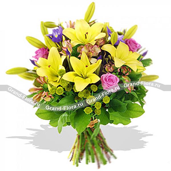 Цветы Гранд Флора GF-s058 букет мисс мечта