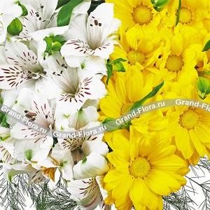 Букет из цветов Все мысли о тебе