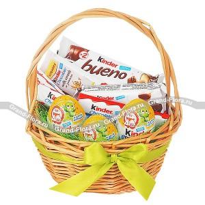 Корзина Kinder - корзина подарочная со сладостями...<br>
