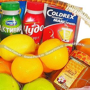 Здоровье - подарочная корзина с фруктами