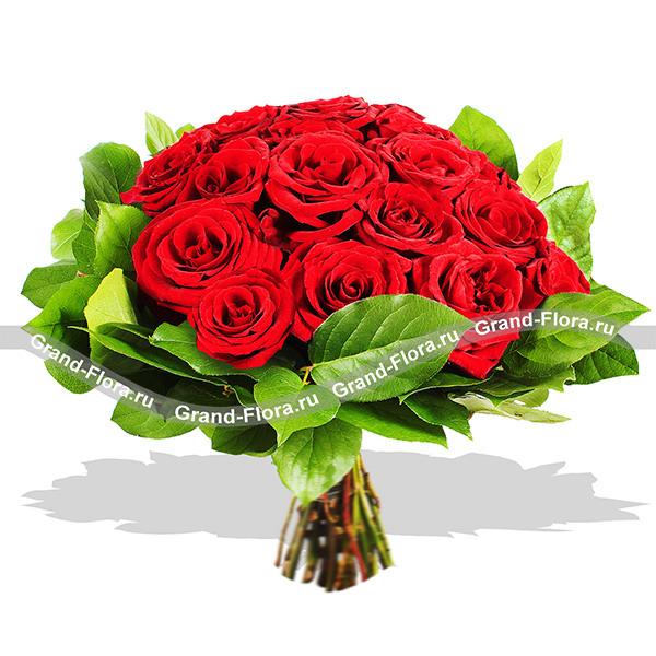 Новинки Гранд Флора Красные розы - Венец страсти фото