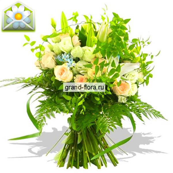 Цветы Гранд Флора GF-r044 flora express лунная соната