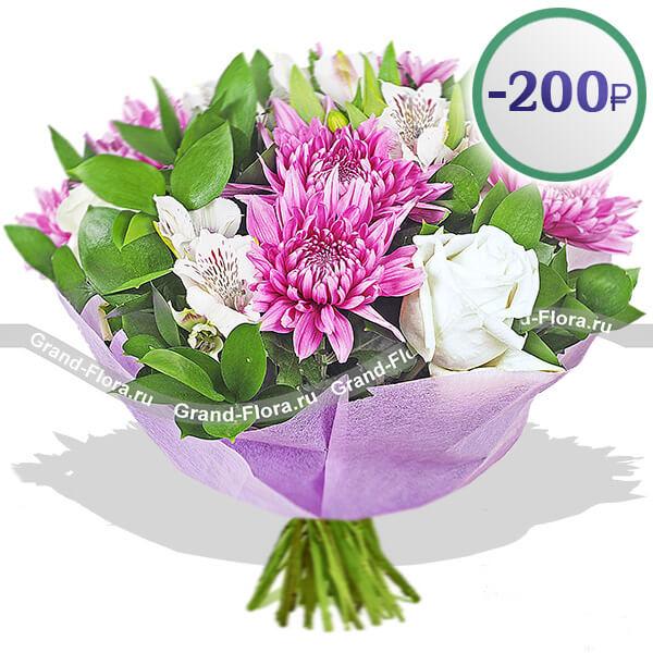 Акция от Grand-flora Гранд Флора Сиреневая звезда фото