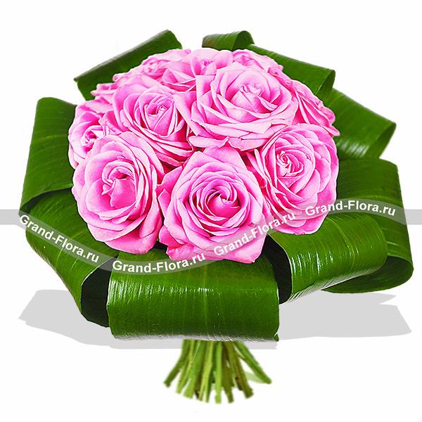 Удивительный букет роз