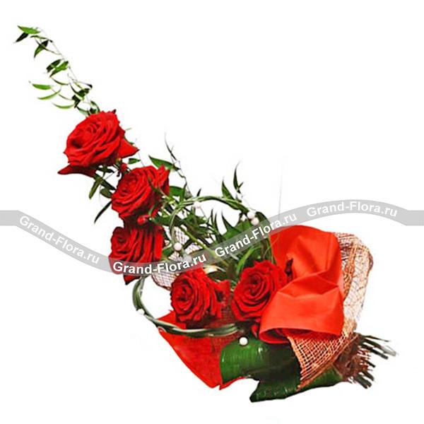 Цветы Гранд Флора GF-r019 барсетка giorgio ferretti business 3276 019 rosolare gf
