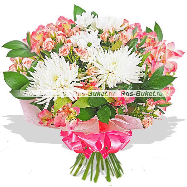 Устаревшие букеты Гранд Флора Жизнь в розовом цвете фото