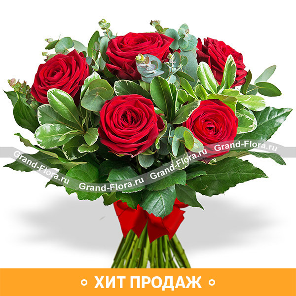 Дорогому человеку - букет из роз