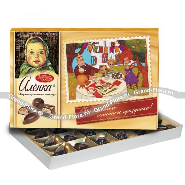 Подарки-дополнения к цветам Гранд Флора Конфеты
