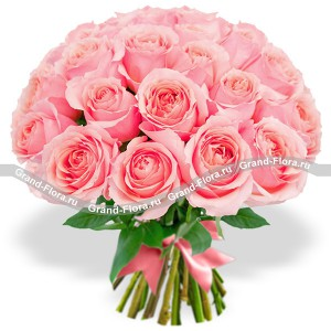 Розовые мечты (25 роз)