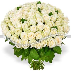 101 белая роза...<br>
