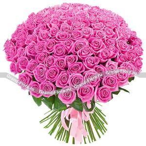 Букет из 101 розы Аква (50 см)...<br>