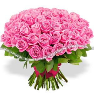 Пленительная красота (51 роза)