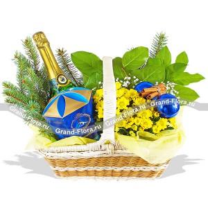 Новогодний блюз от Grand-Flora.ru
