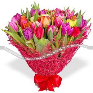 Флоренция - букет из тюльпанов...<br>