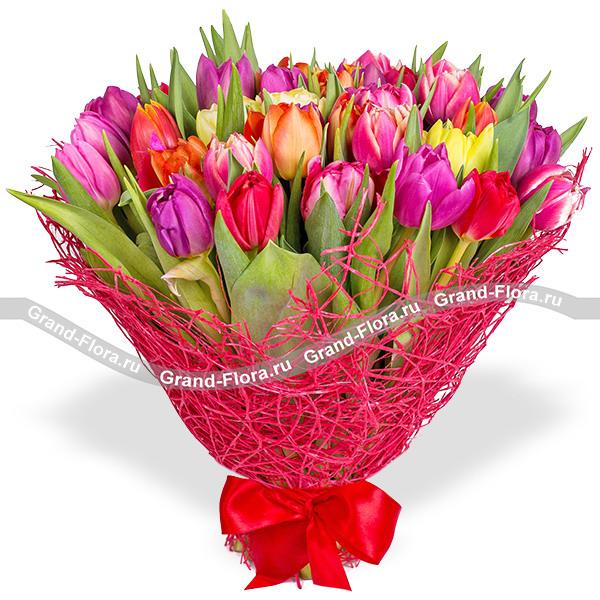 Флоренция - букет из тюльпанов