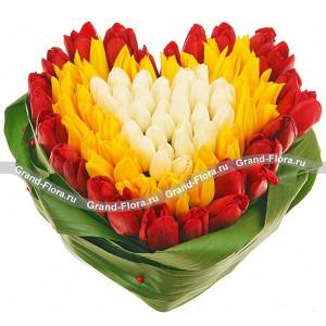 Сердце из тюльпанов - Непревзойденной...<br>
