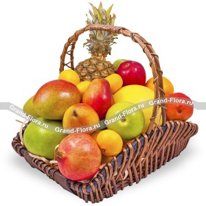 Фрутти - корзина из фруктов от Grand-Flora.ru