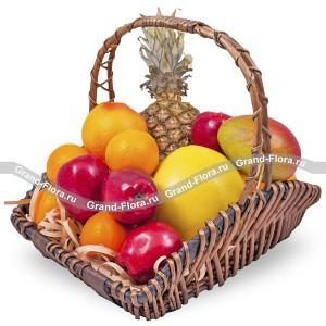 Чудо-остров - корзина из фруктов