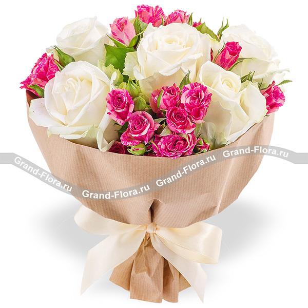 Купить Нежный День - Букет Из Роз
