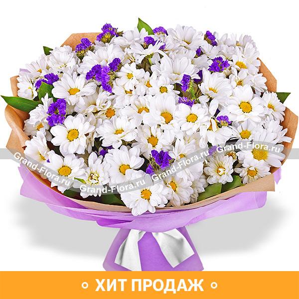 Долина мечтаний - букет из хризантем