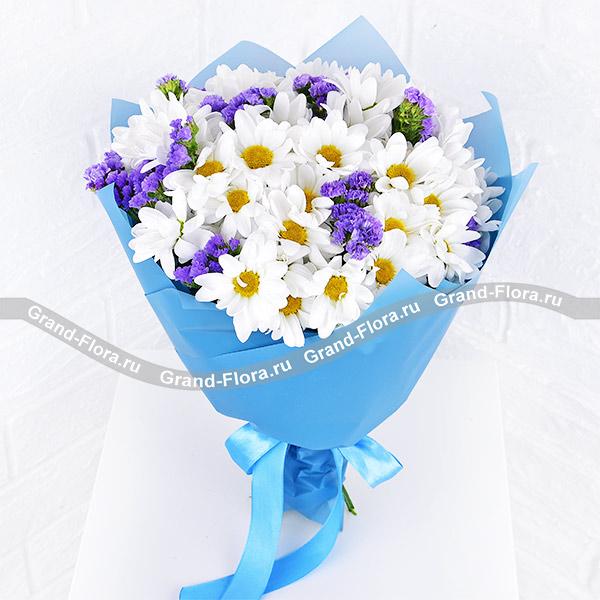 Все букеты Гранд Флора Долина мечтаний - букет из хризантем (акционное предложение) фото