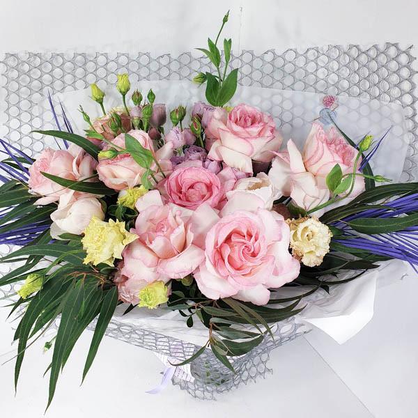 Купить В плену у счастья - букет из роз| Бесплатная доставка по России и миру