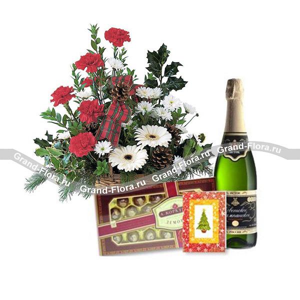 Цветы Гранд Флора GF-ny019 рождественская сказка