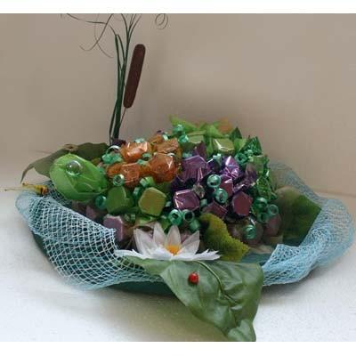 Купить Букет Из Конфет «Черепаха Тортилла»