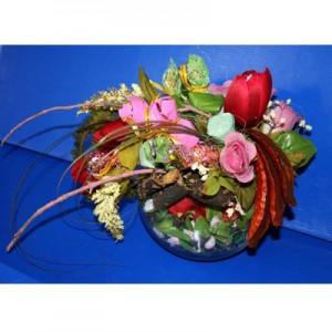 Букет из конфет «Аленький цветочек»