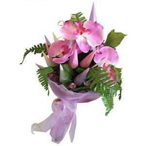 Букет из цветов Букет из конфет «Нежность»