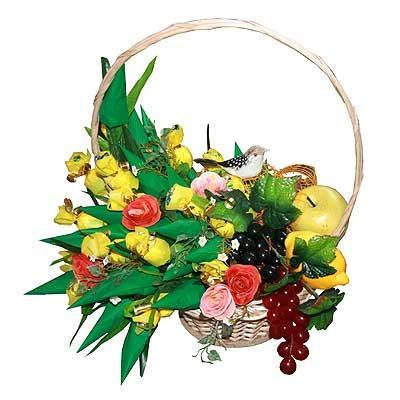 Купить Букет Из Конфет «Райский Сад»