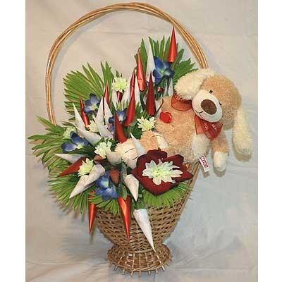 Цветы Гранд Флора GF-bkm0092 букет из конфет 3