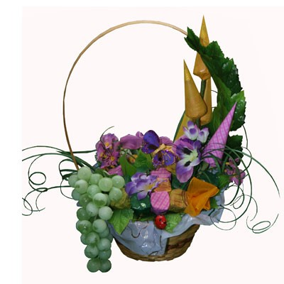 Купить Букет Из Конфет «Виноградная Лоза»