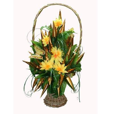 Купить Букет Из Конфет «Золотые Цветы»